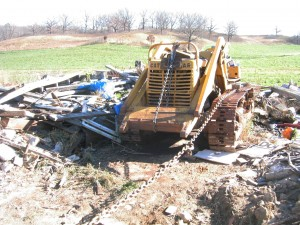 Caterpillar D4 Traxcavator crawler tractor