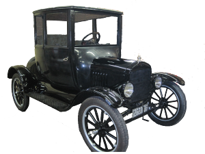 1919 Model T Ford coupe